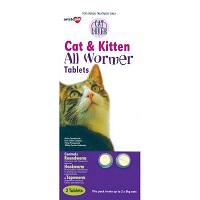 Cat Lover Allwormer Tablets