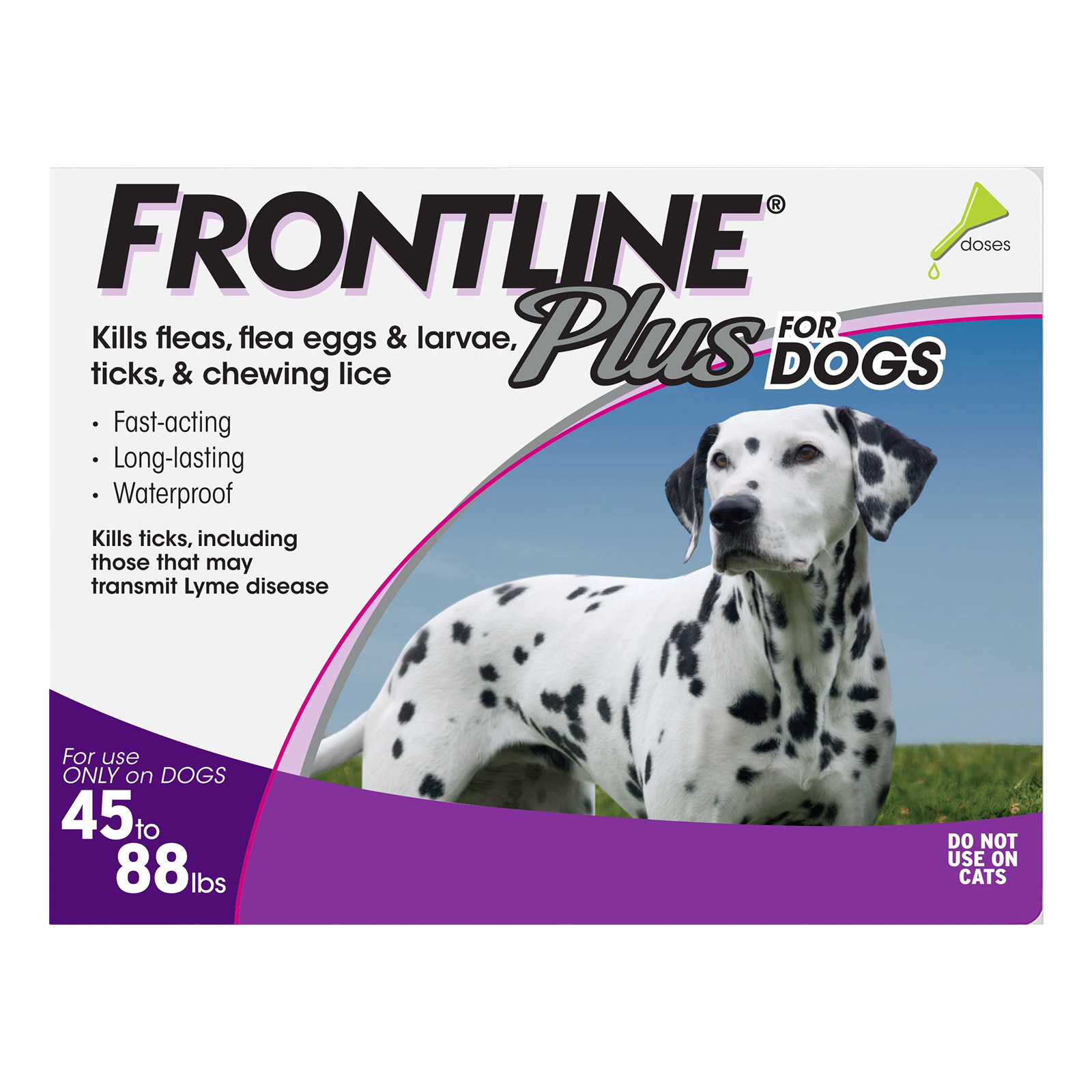 Frontline Plus for Large Dogs 45-88 lbs