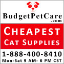 cheapest cat supplies