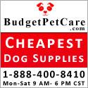 cheapest dog supplies