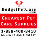 cheapest pet supplies budgetpetcare