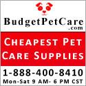 cheapest pet supplies budgetpetcare