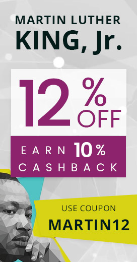 10% Off and 10% Cashback on New Year</div>