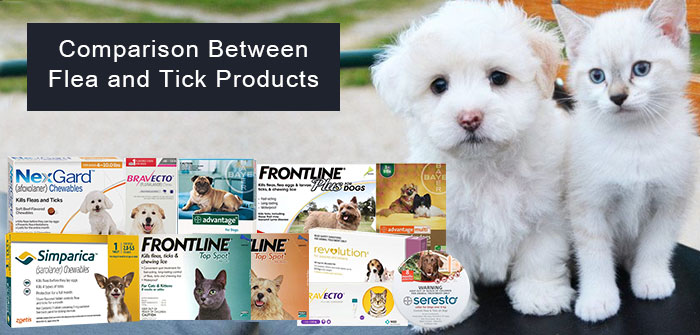 flea and tick products