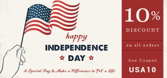 Independence Day – A Special Day To Make A Difference In A Pet's Life