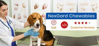 NexGard Chewables: Vet v/s Customer Reviews