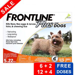 Frontline plus free dose offers