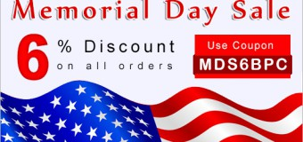 Celebrate Memorial Day With BPC And Get 6% Off On All Products