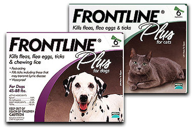Frontline Plus for Pets