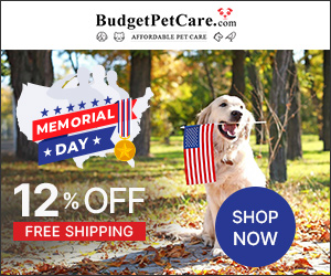 GET 12% OFF on Pet Supplies For Memorial Day. Ends May 31st May. Instant 10% Cashback & Free Shipping. Use Coupon: MEMORIAL