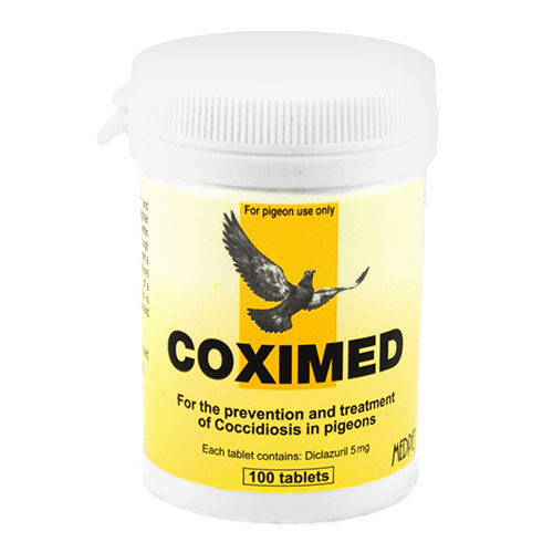 BudgetPetCare.com - Coximed 100 Tablets 1 Pack 19.40 USD