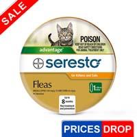 Image of Seresto Flea Collar For Cats 1 Piece
