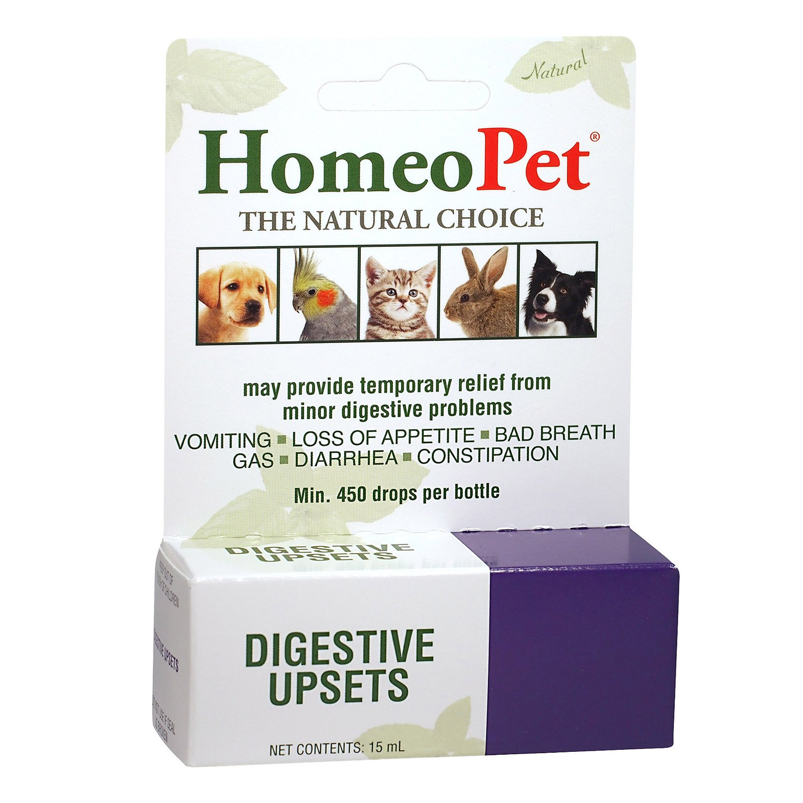 Digestive Upsets For Dogs/Cats (214589)