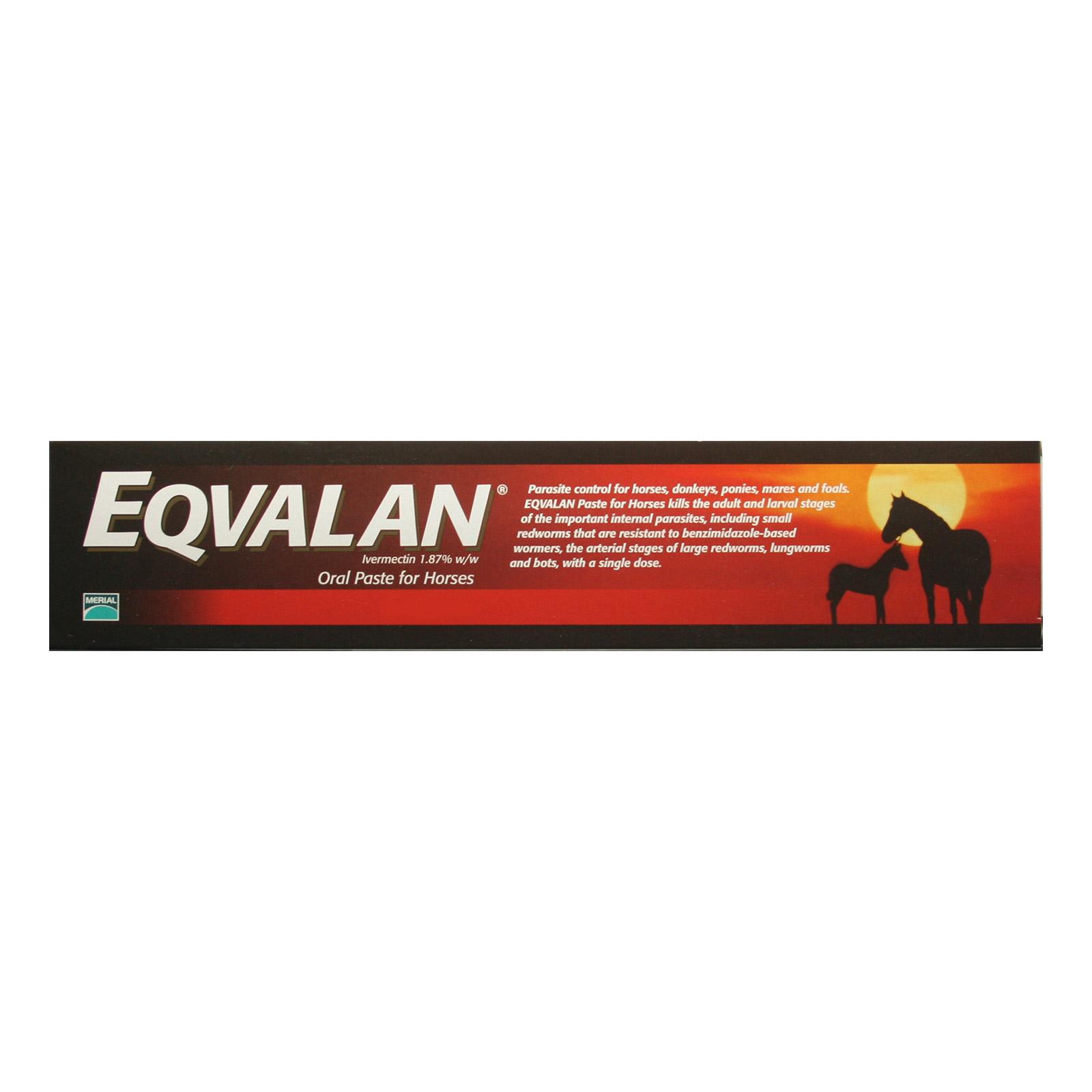 BudgetPetCare.com - Eqvalan Paste Horses 6.42gm 1 Syringe 34.09 USD