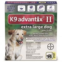 K9 Advantix II  Extra Large Dogs over 55 lbs (Blue)