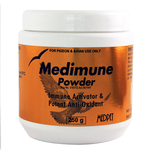 BudgetPetCare.com - Medimune Powder For Birds 250 Gm 31.54 USD