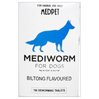 Mediworm For Small Dogs 10-22 Lbs 2 Tablet