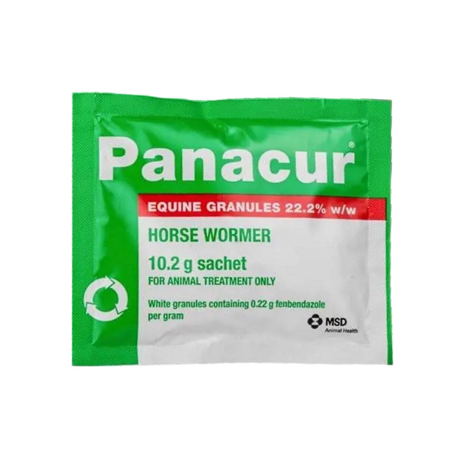 BudgetPetCare.com - Panacur Equine Granules Single Sachet 10gm 1 Sachet 20.35 USD