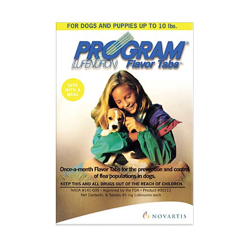 Program Flavour Tabs For Dogs 5.2 - 14.7 Lbs Red 12 Tablet