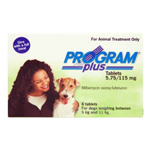 Program Plus For Dogs 11 - 20lbs Green 12 Tablet