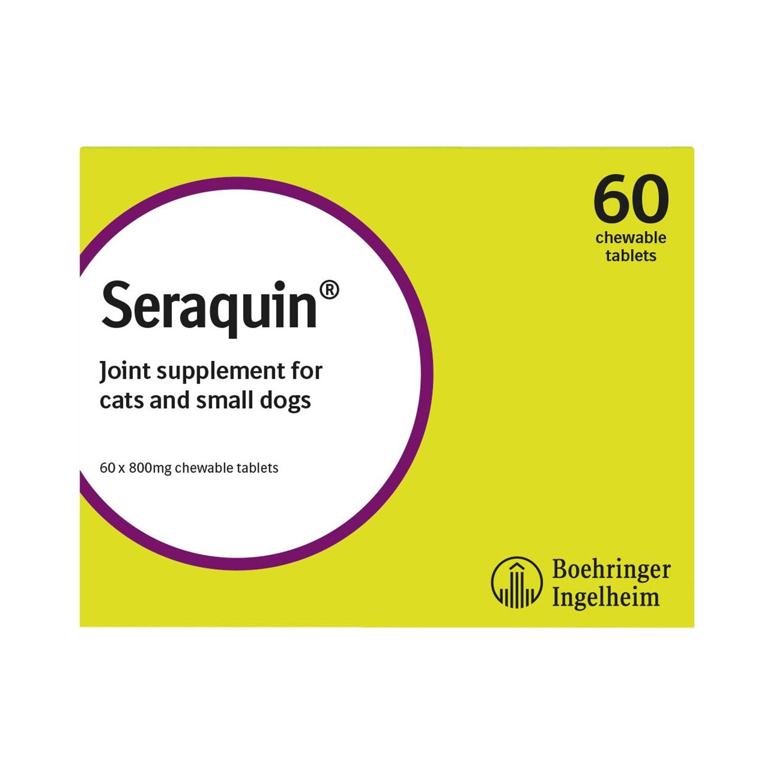 BudgetPetCare.com - Seraquin 800 Mg 60 Tablet 40.82 USD