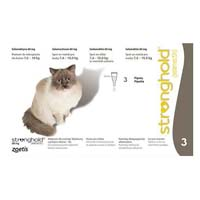 Stronghold Large Cats 7.5 Kg -10 Kg 60 Mg Grey 3 Months