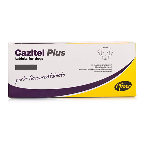 Cazitel Plus For Small And Medium Dogs 22 Lbs 10 Kg 1 Tablet