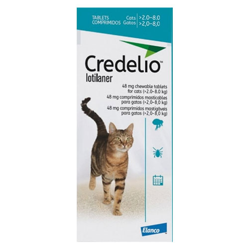 Credelio For Cats 48mg 6 Doses
