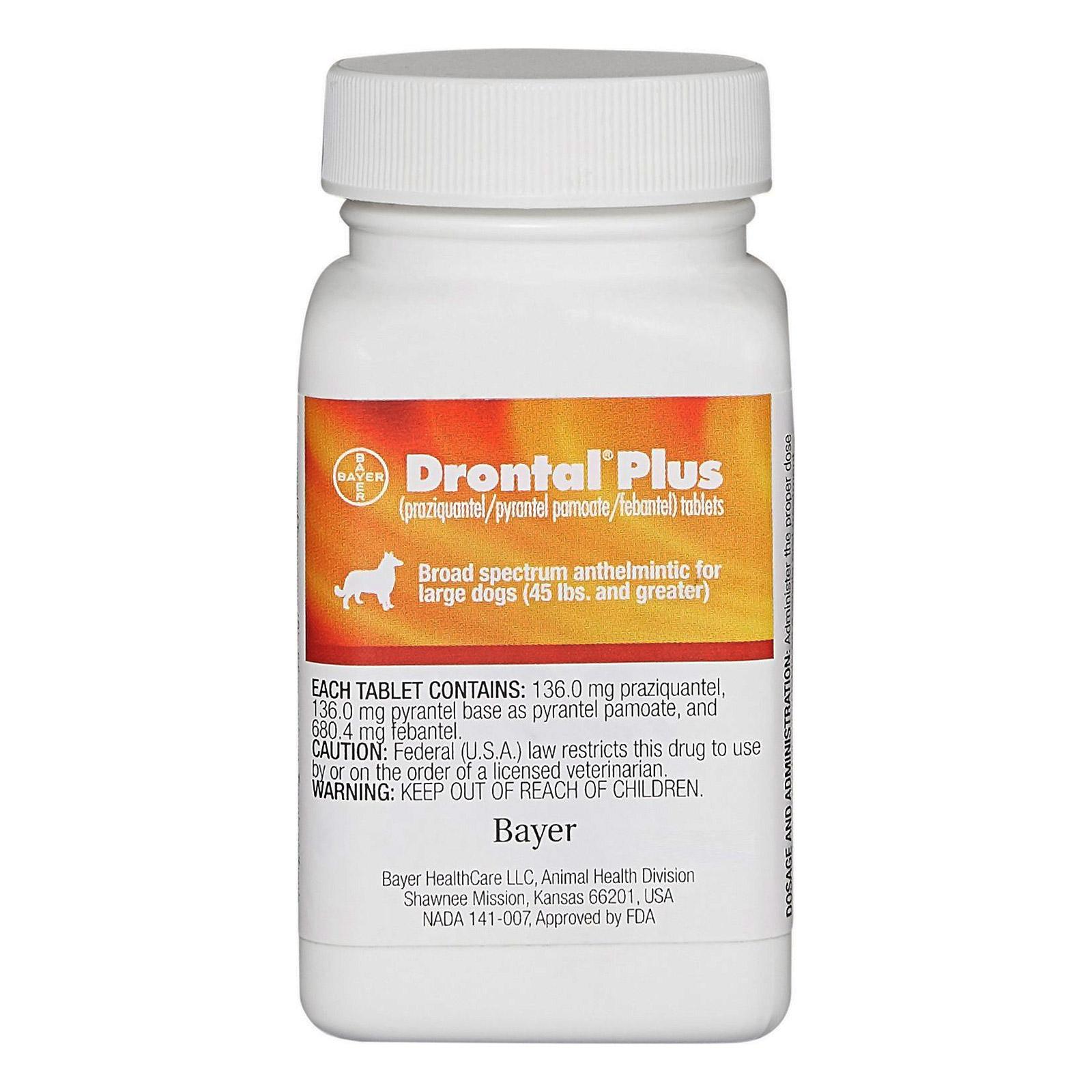 Drontal Plus For Medium Dogs 3.1 - 10 Kg 1 Tablet