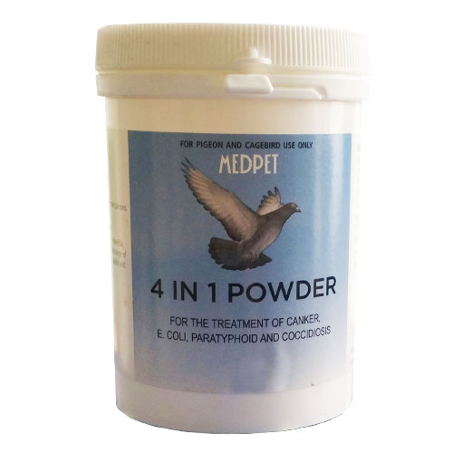 BudgetPetCare.com - Medpet 4 In 1 100 Gm Powder 1 Pack 33.41 USD