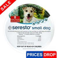 Image of Seresto Collar For Small Dogs Upto 18lbs - 15 Inch 38 Cm 1 Piece