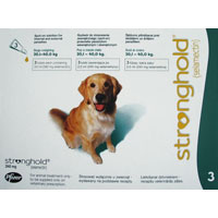 Stronghold Dogs 20.1-40.0 Kg 240 Mg Green 3 Months