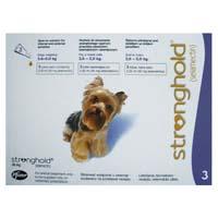 Stronghold Dogs 2.6-5.0 Kg 30 Mg Violet 3 Months