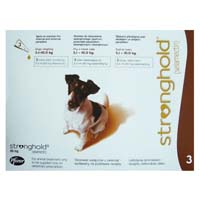 Stronghold Dogs 5.1-10.0 Kg 60 Mg Brown 3 Months