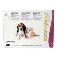 Stronghold Kittens & Puppy Upto 2.6 Kg 15 Mg Rose 3 Months