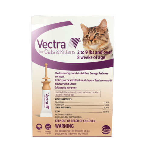 BudgetPetCare.com - Vectra For Cats 3 Doses 52.03 USD