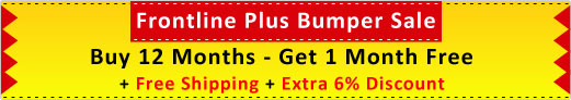 Buy Frontline Plus 12 Months Sypply & Get 1 Month Absolutely Free