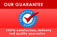 100% Satisfaction, delivery and quality Guarante