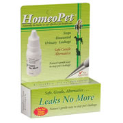 Leaks No More Homeopathic Pet Medications