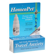 Travel Anxiety Homeopathic Pet Medications