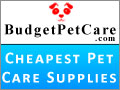 Visit Budgetpetcare.com - Cheapest Pet Supplies Online Shop