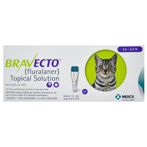 Buy Bravecto Spot-On  for Cats