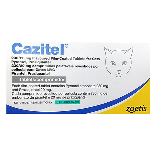 Buy Cazitel Tablets  for Cats