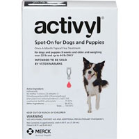 Activyl For Very Small Dogs 4-14 lbs Pink 4 PACK