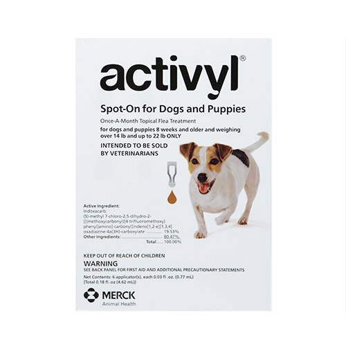 Activyl For Small Dogs 14 – 22 Lbs Orange 4 Pack
