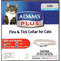 "Adams Plus Cat Collar Cat Collar 12"" 1 PIECE"