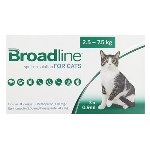 Broadline Spot-On Solution Broadline Spot On for Large Cats 5.5 to 16.5 lbs 12 PACK
