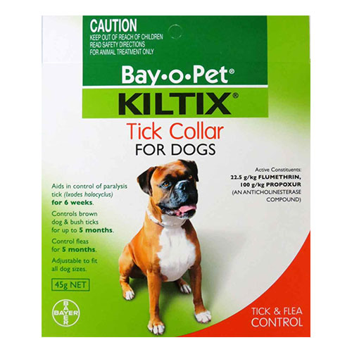 Kiltix Tick Collar For Dogs 5 Month Supply 65 Cms