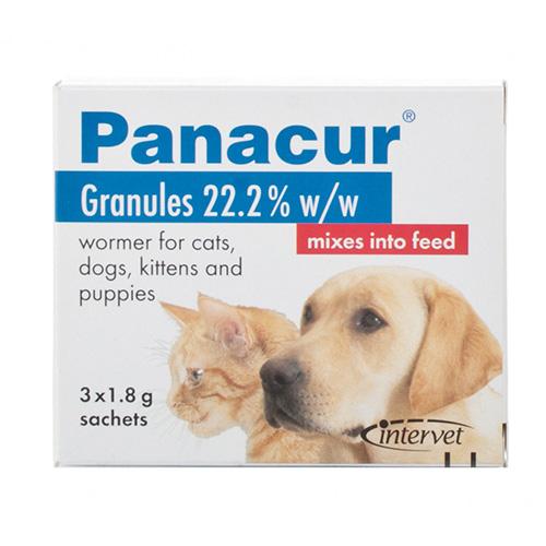 Panacur grans 1.8g cat dog