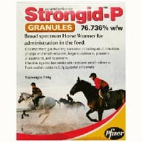 Strongid-P Granules Single Sachet 7.43 gm 1 SACHET